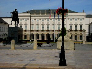 Presidents Palace Warsaw Poland