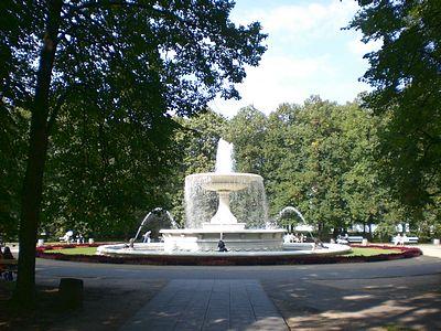 Saxon Garden Fountain Warsaw