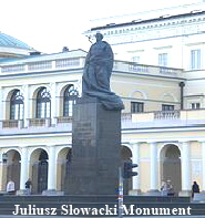 Juliusz Slowacki Monument