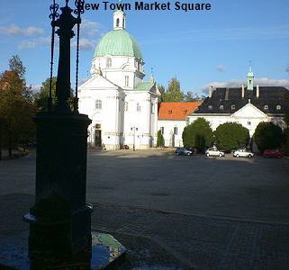 New Town Market Square Warsaw