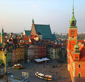Oldtown Warsaw Poland