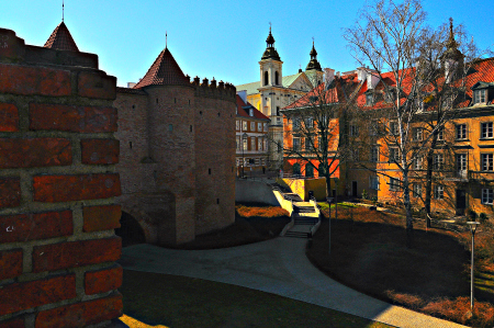 Warsaw City Walls