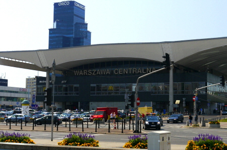 Warsaw Main Train Station