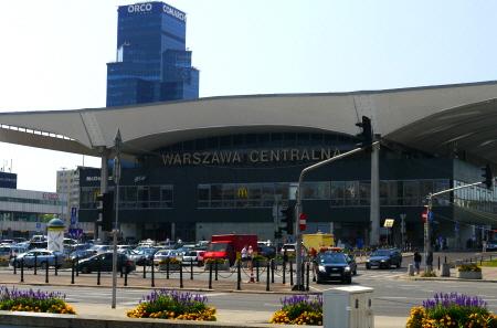 Warsaw Main Train Station