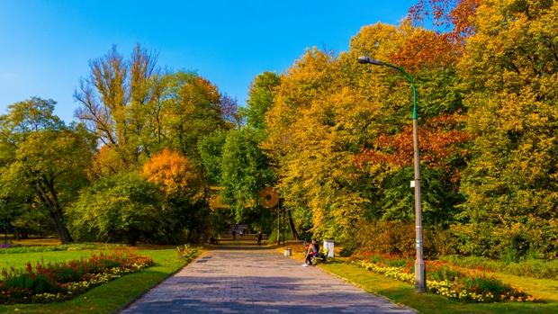 Praga Park (Praski Park) in Warsaw