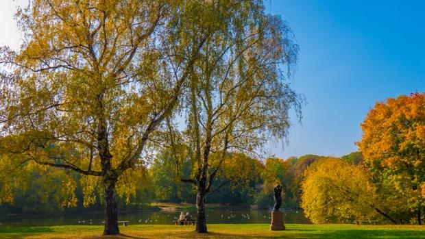 Skaryszewski Park Warsaw