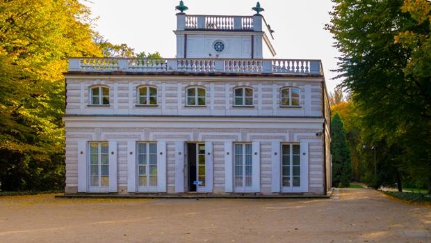 White Pavilion Lazienki