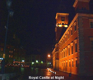 Royal Castle at Night