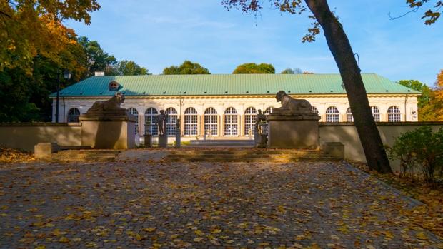 łazienki Park In Warsaw